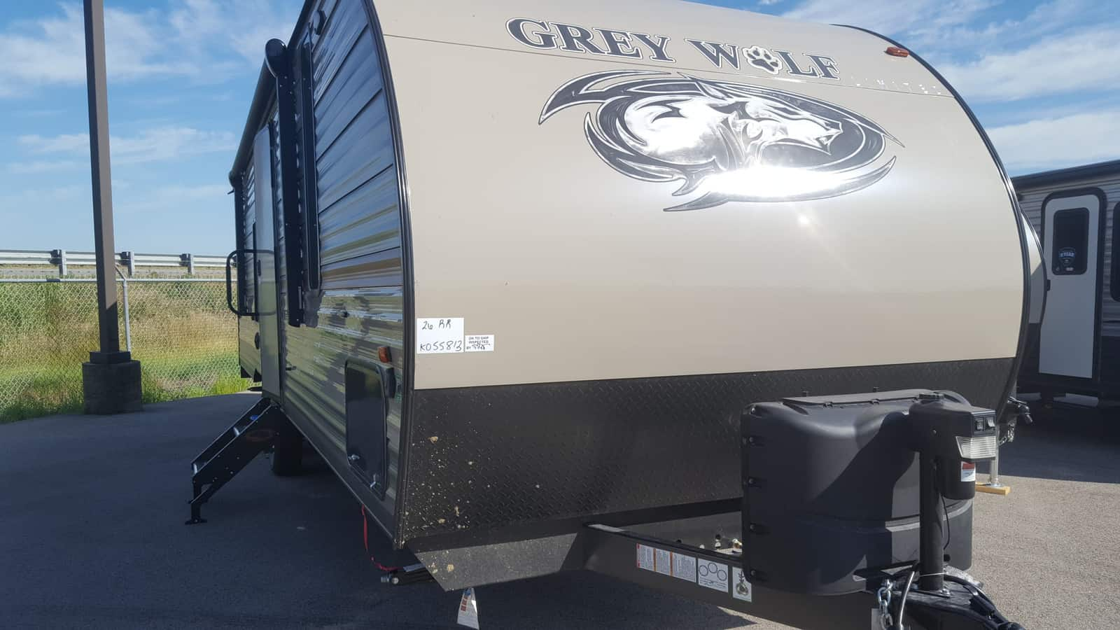 NEW 2019 Forest River CHEROKEE GREY WOLF 26RR - American RV
