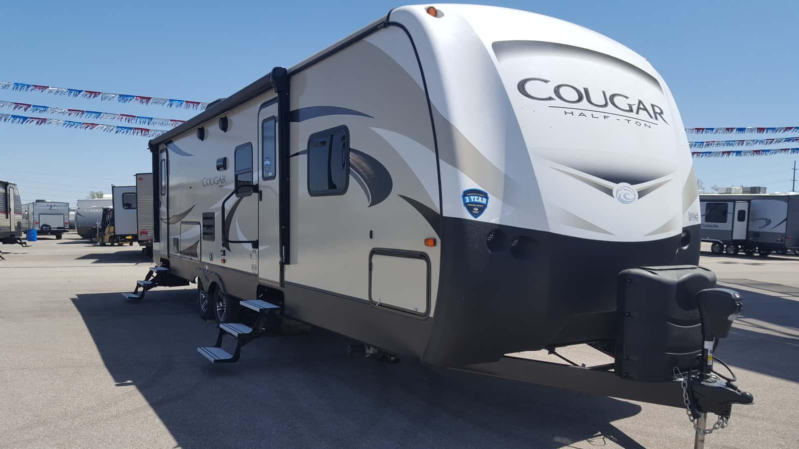 NEW 2019 Keystone COUGAR HALF-TON 29BHS - American RV