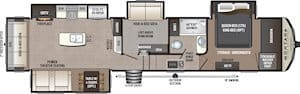 NEW 2019 Keystone MONTANA HIGH COUNTRY 384BR - American RV
