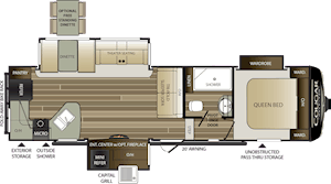 NEW 2019 Keystone COUGAR HALF-TON 29RKS - American RV