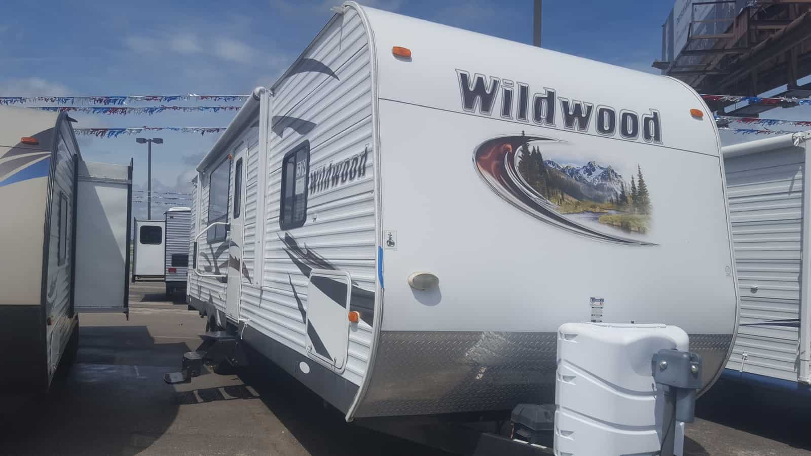 USED 2012 Forest River WILDWOOD 27RKSS - American RV