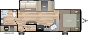NEW 2019 Keystone SPRINGDALE 274RB - American RV