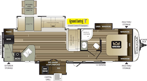 NEW 2019 Keystone COUGAR HALF-TON 33MLS - American RV