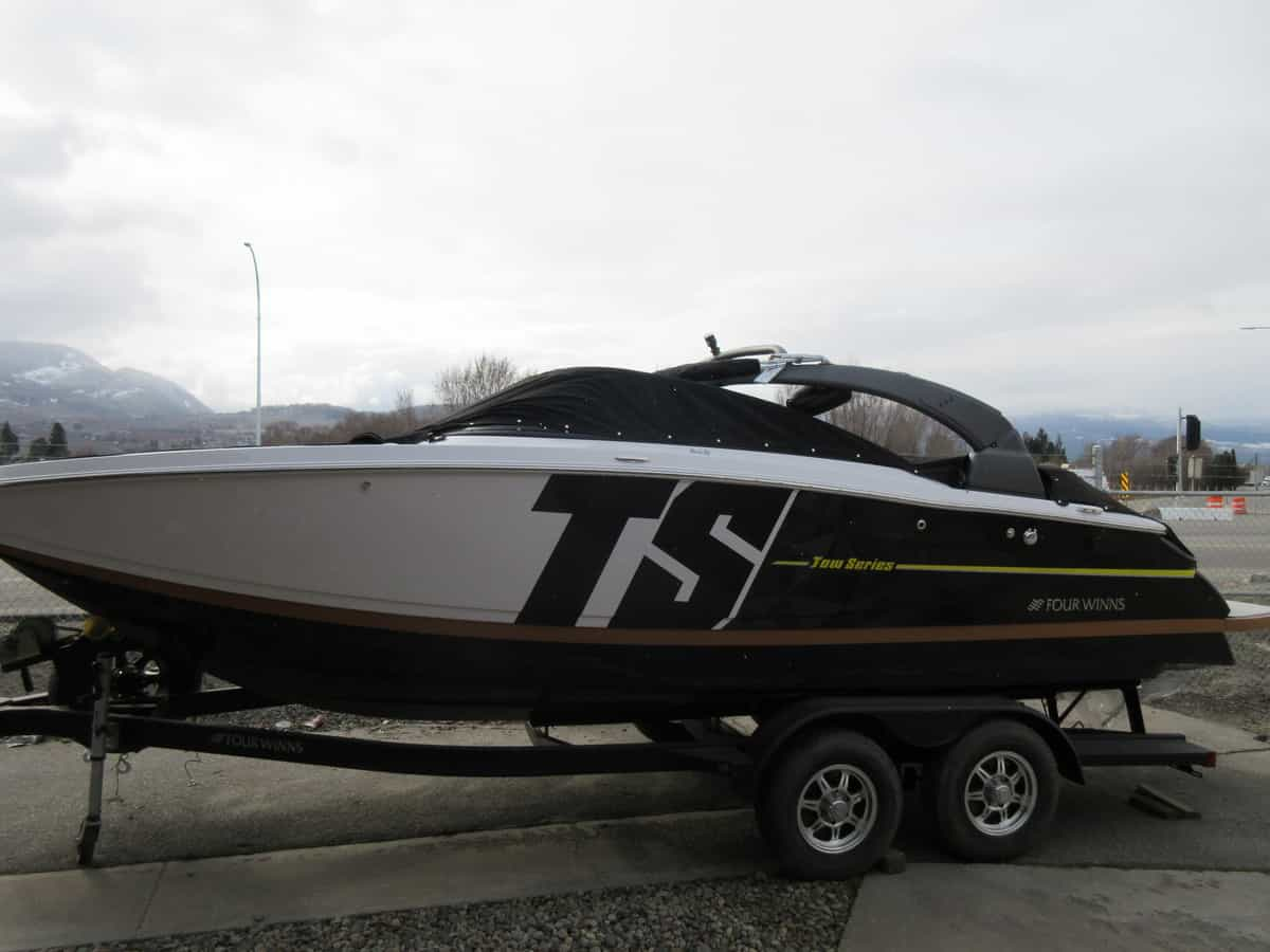 Boat Tow Harness New Boats For Sale Kelowna Sales Atlantis Marine 2018 Four Winns Ts 242 Demo
