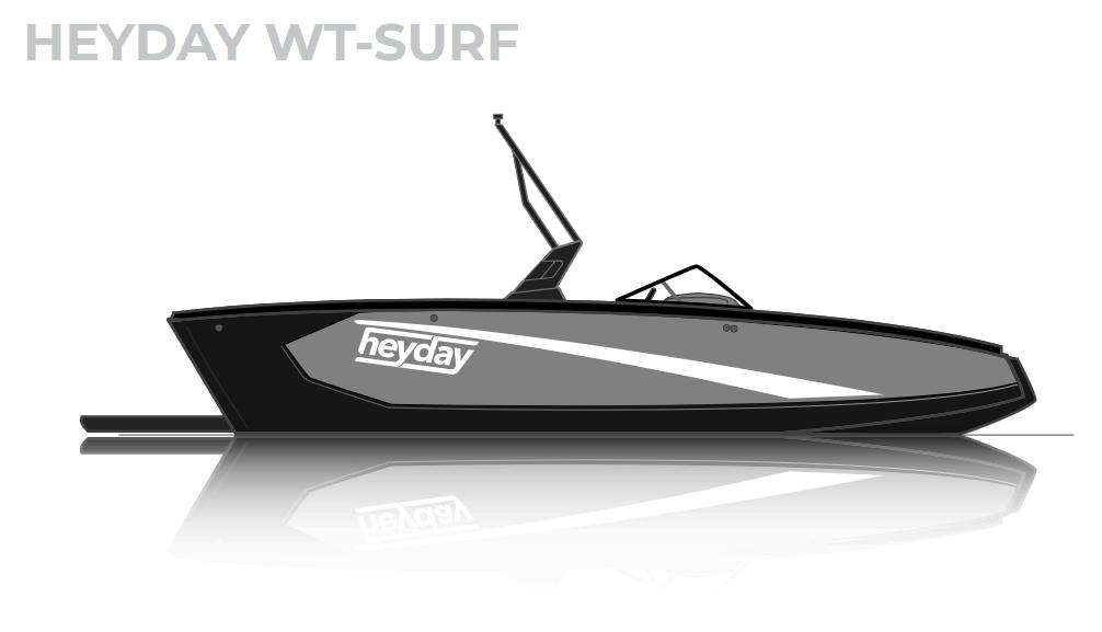 NEW 2019 Heyday WT-SURF - Atlantis Marine