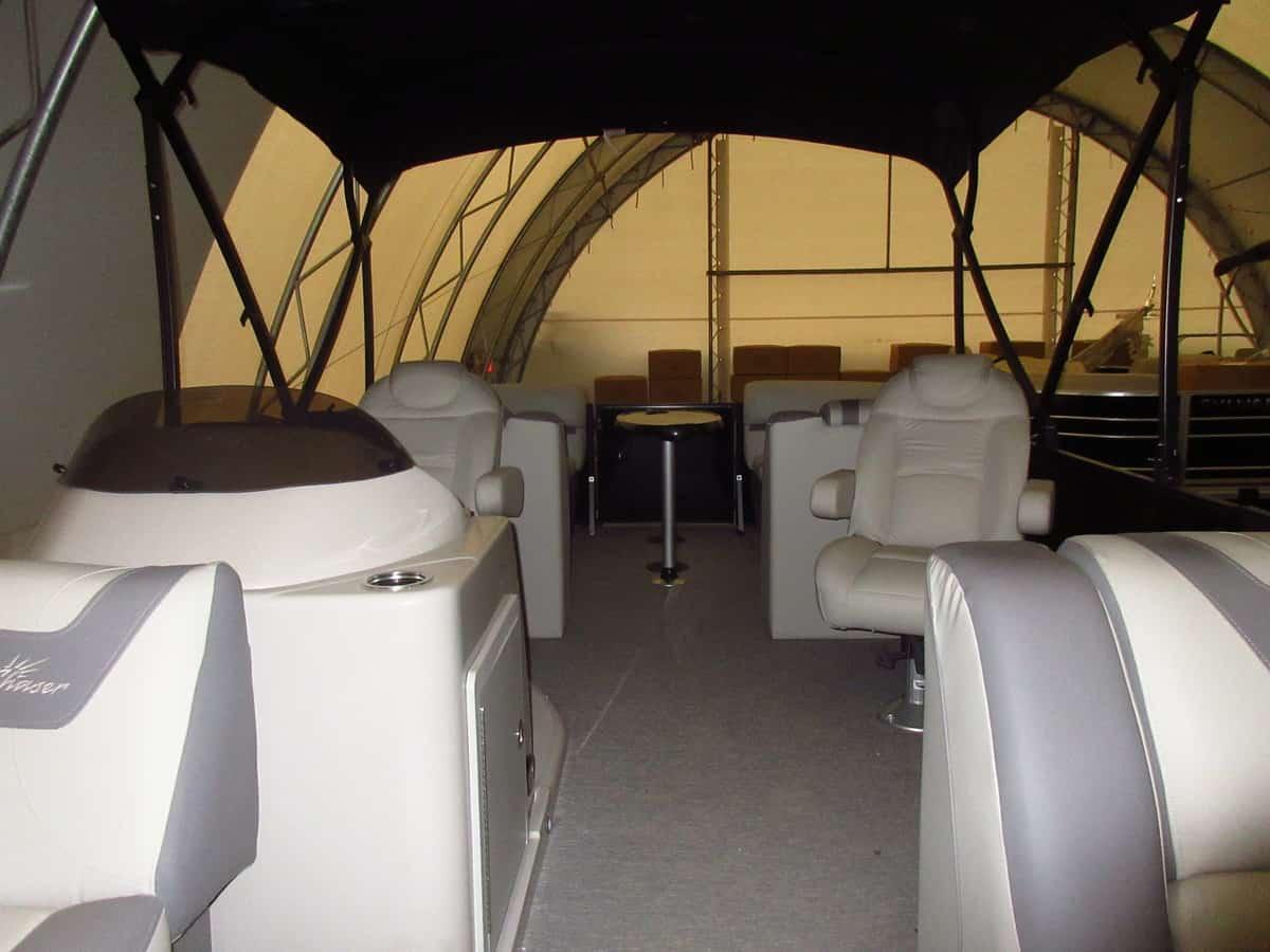 NEW 2019 Sunchaser Geneva 22 LR DH Sport Tri Toon 200 HP - Atlantis Marine