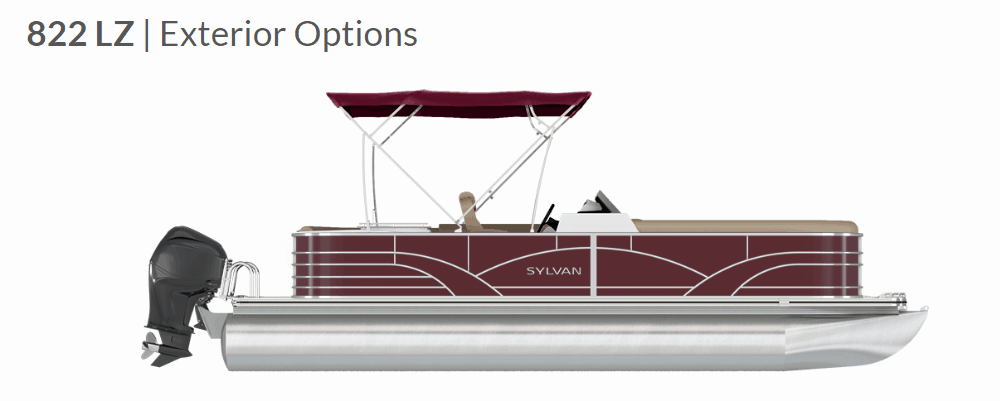 NEW 2019 Sylvan Mirage 822 LZ - Atlantis Marine