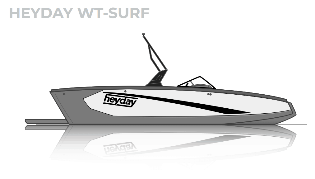 NEW 2019 Heyday WT-SURF - Atlantis Marine
