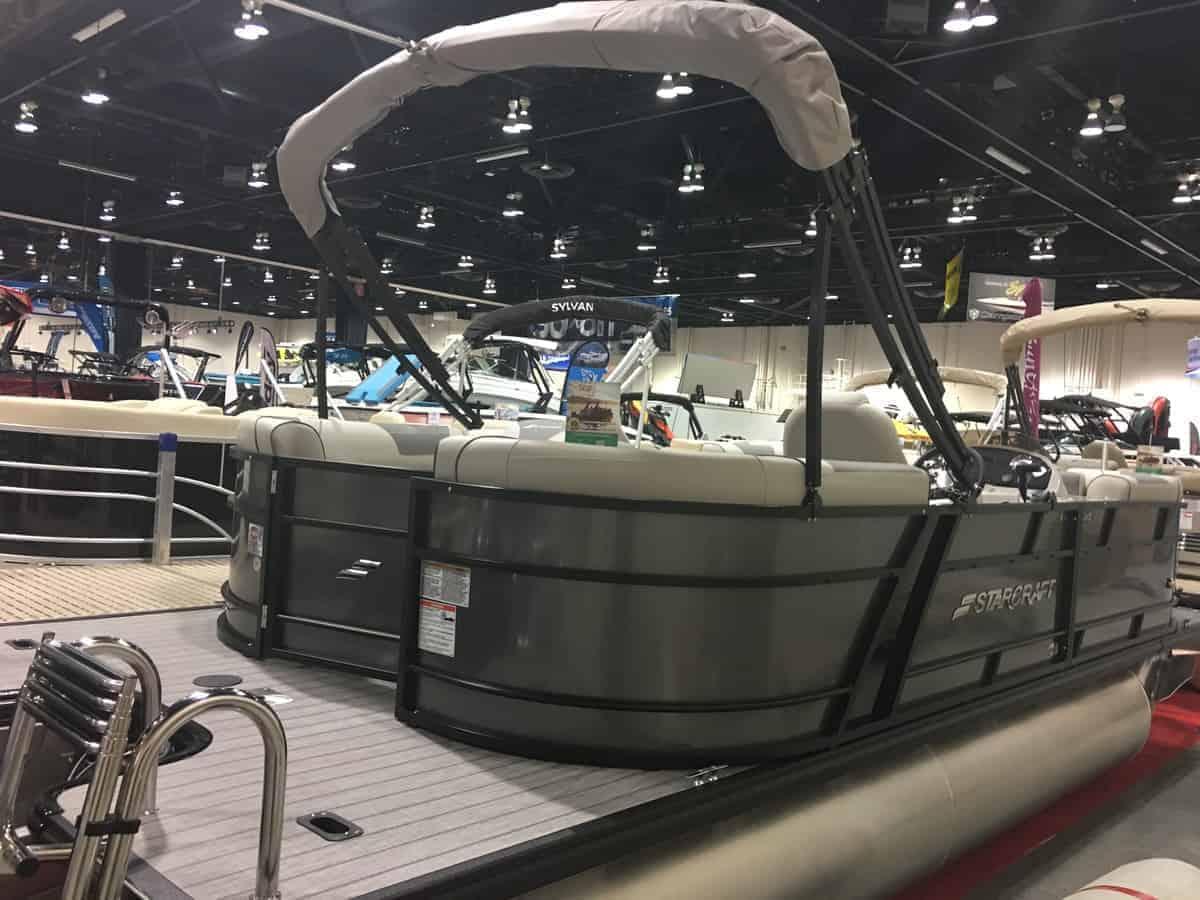NEW 2019 Starcraft EXS-1 W/150 HP 4 STROKE Tri Toon - Atlantis Marine