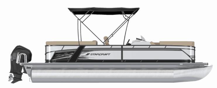 NEW 2019 Starcraft SLS-3 W/200HP 4 STROKE TRI TOON - Atlantis Marine