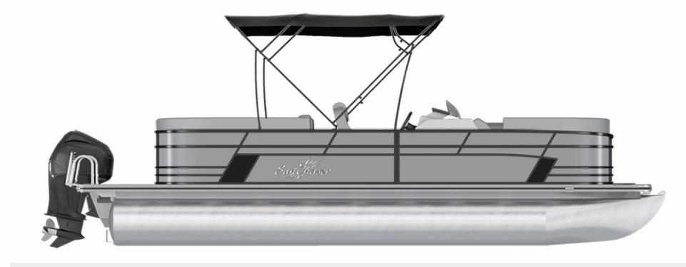 NEW 2019 Sunchaser Geneva 22 LR DH Sport W/150HP TRI TOON - Atlantis Marine