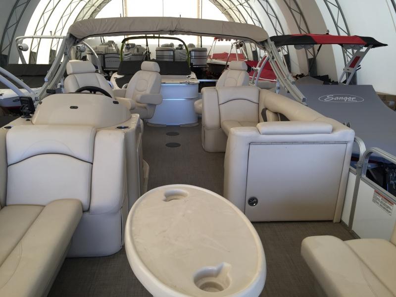 NEW 2017 Sunchaser 8522 FishDlx TriToon 150HP - Atlantis Marine
