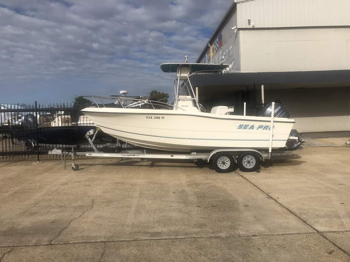 USED 1999 Sea Pro 210 CC