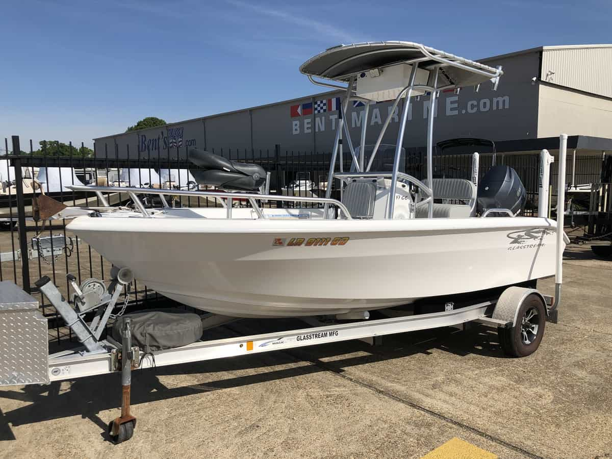 USED 2014 Glasstream 17CC