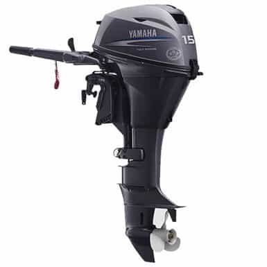 NEW 0000 Yamaha Marine FOUR STROKE PORTABLE F15LMHA