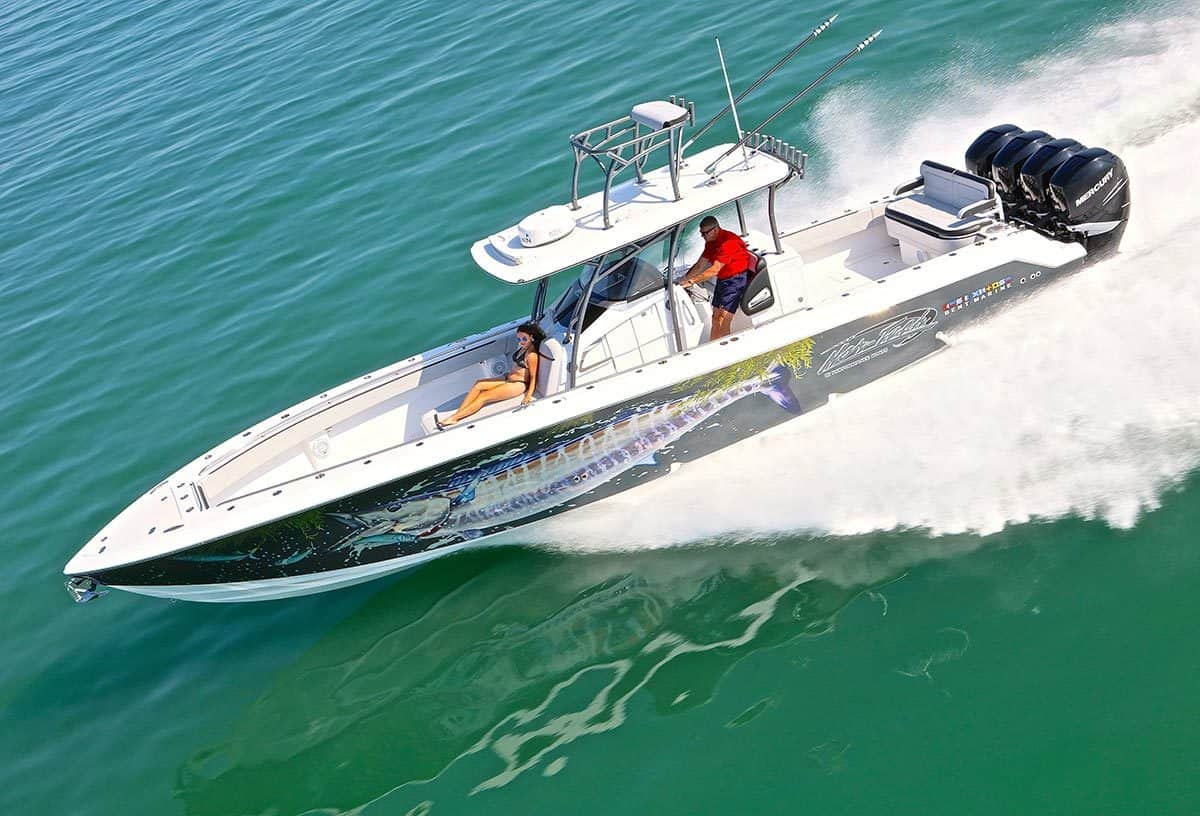 New  2021 39' Nor-tech 392 Super Fish Boat Engine in Metairie,