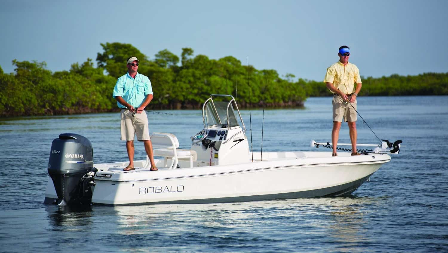 New  2022 20' Robalo 206 Cayman Boat Engine in Metairie,