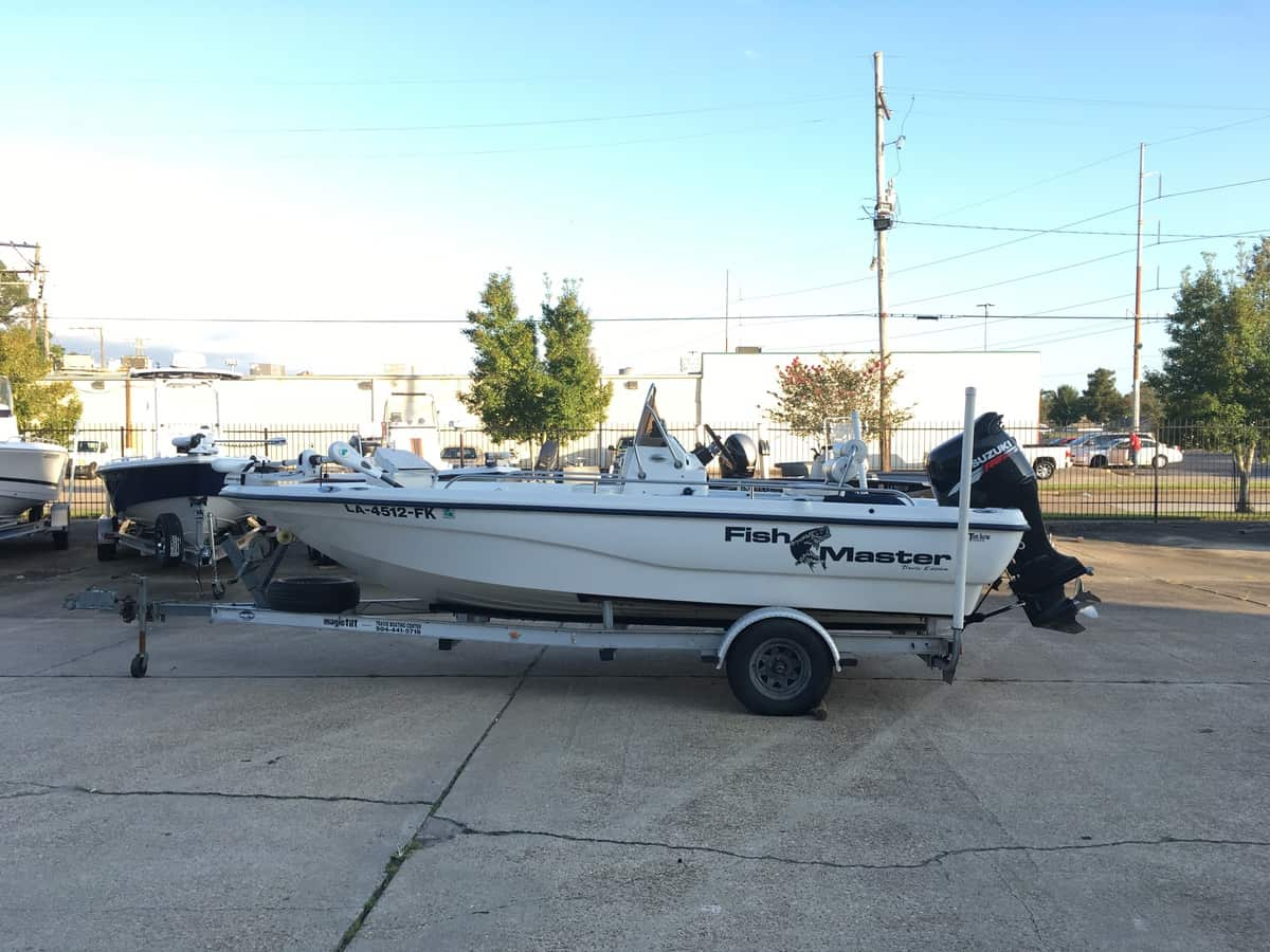 USED 2004 Fishmaster BAY 1960