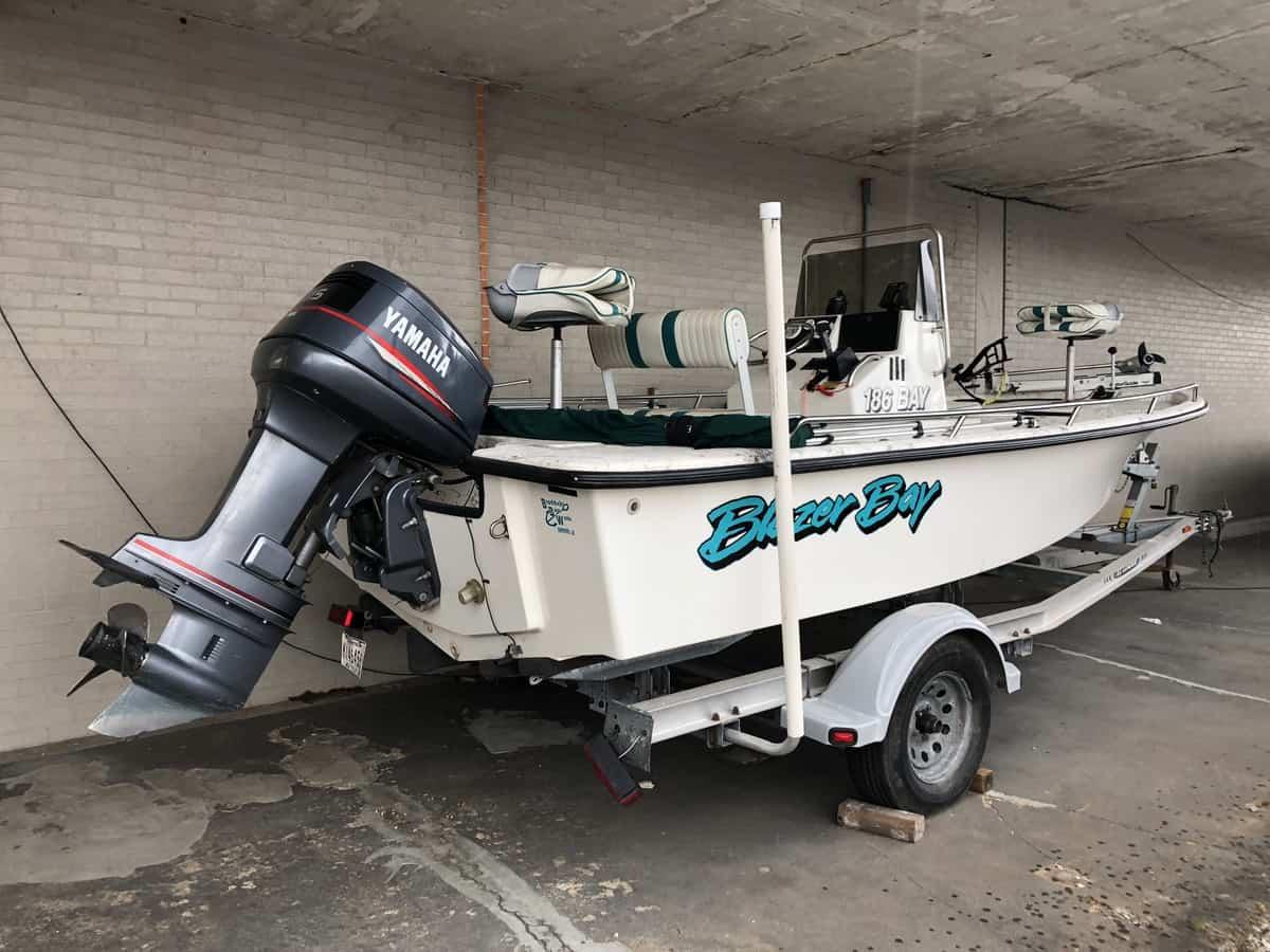 USED 2001 Blazer Bay 186 BAY