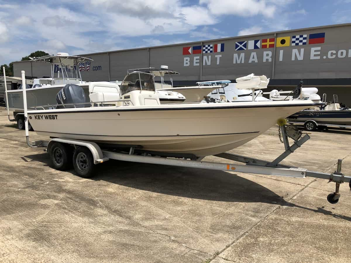USED 2007 Keywest Bay 216 Bay reef