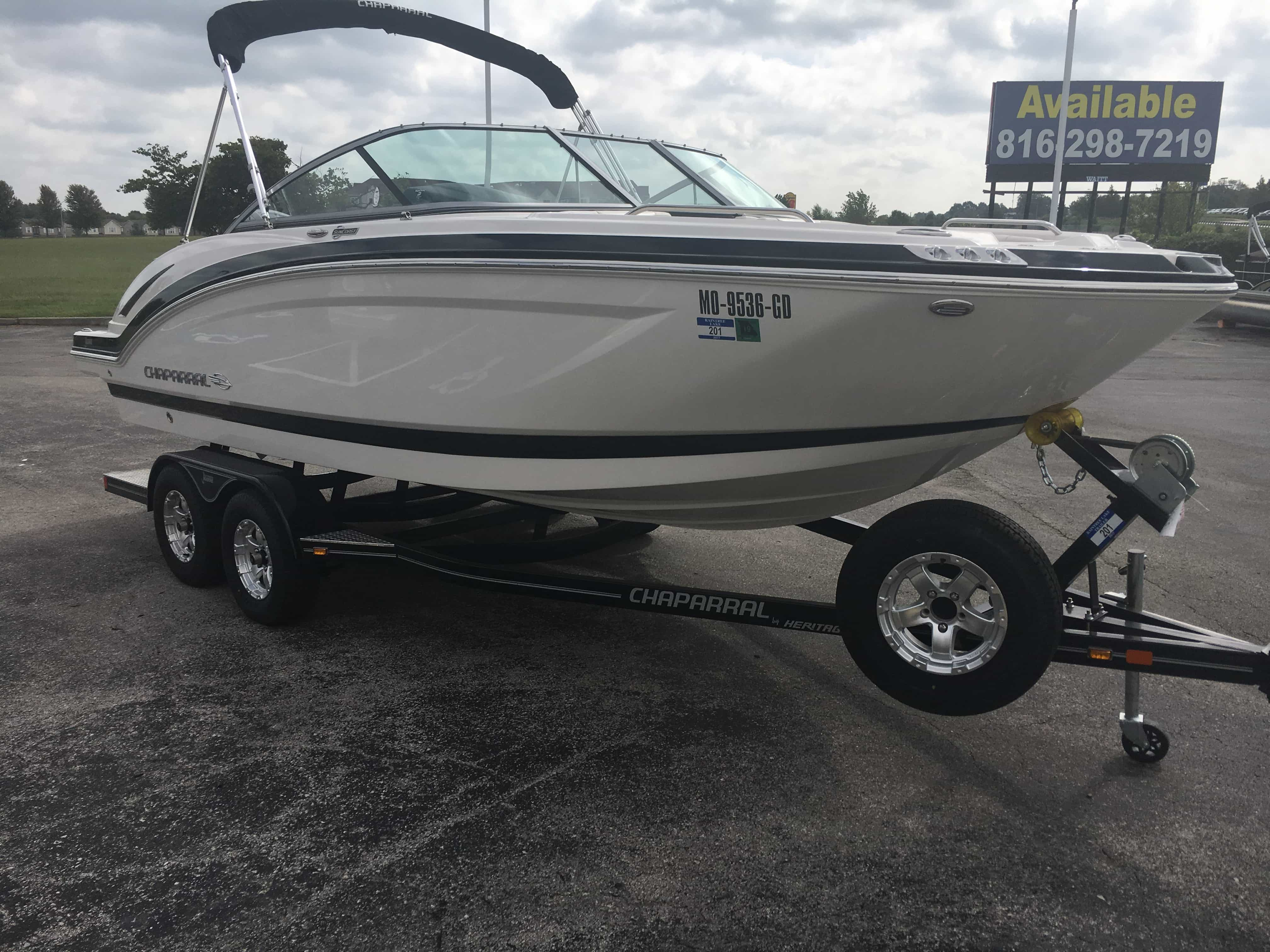 USED 2016 CHAPARRAL 210 SUNCOAST .