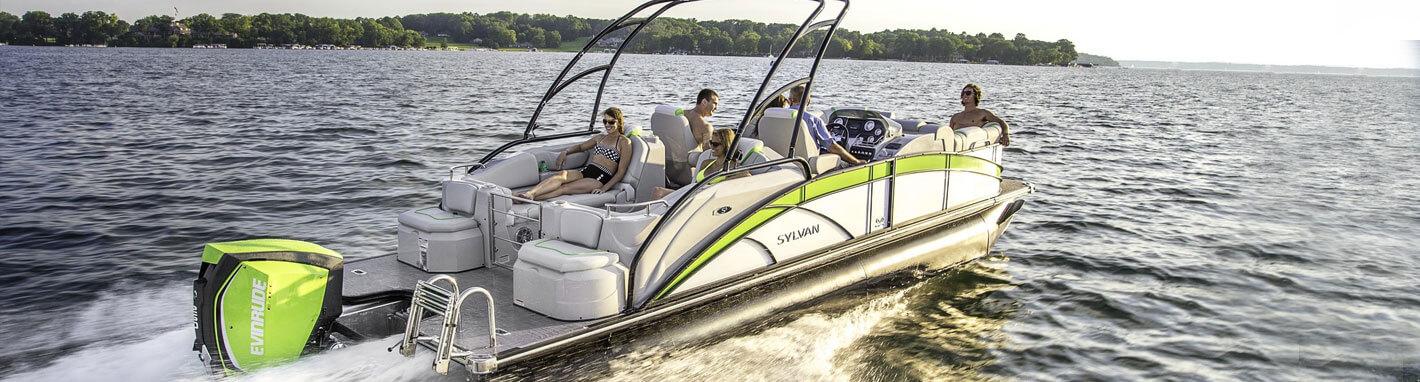 Pontoons For Sale New Used Boats Kansas City Boat Dealer - Picnic table boat for sale