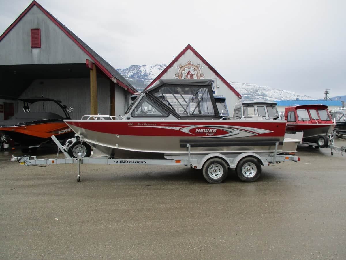 NEW 2018 HEWESCRAFT 190 SEARUNNER ET W/ F150 - Boathouse Marine