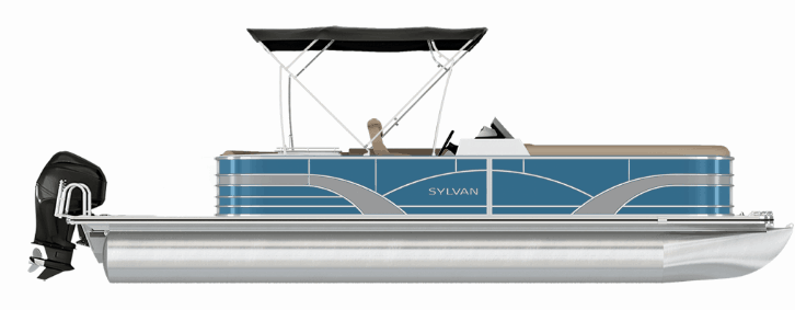 NEW 2018 SYLVAN 8522 CRUISE PORT LE TRI-TOON - Boathouse Marine