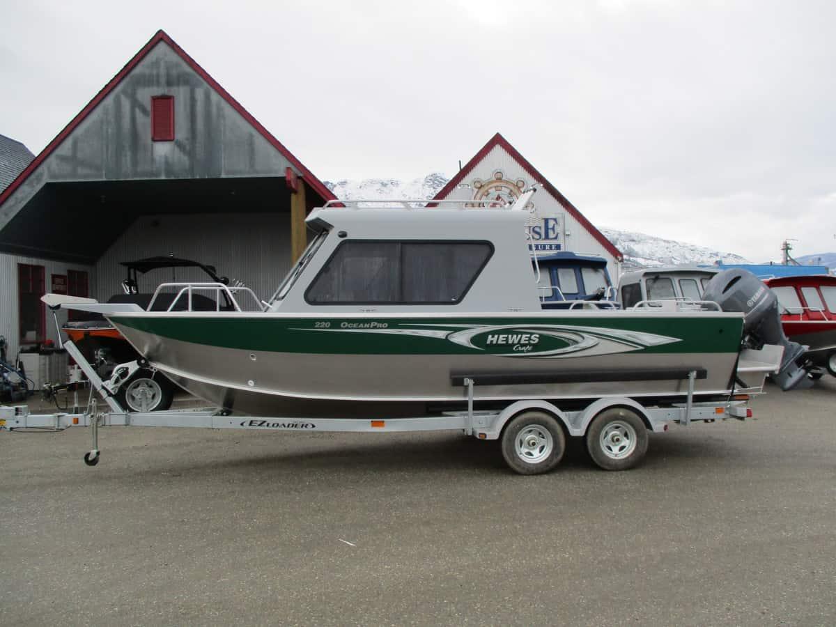 NEW 2018 HEWESCRAFT 220 OCEAN PRO ET HARDTOP W/ F200 - Boathouse Marine