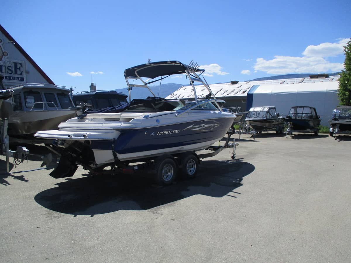 USED 2006 MONTEREY 214 FS - Boathouse Marine