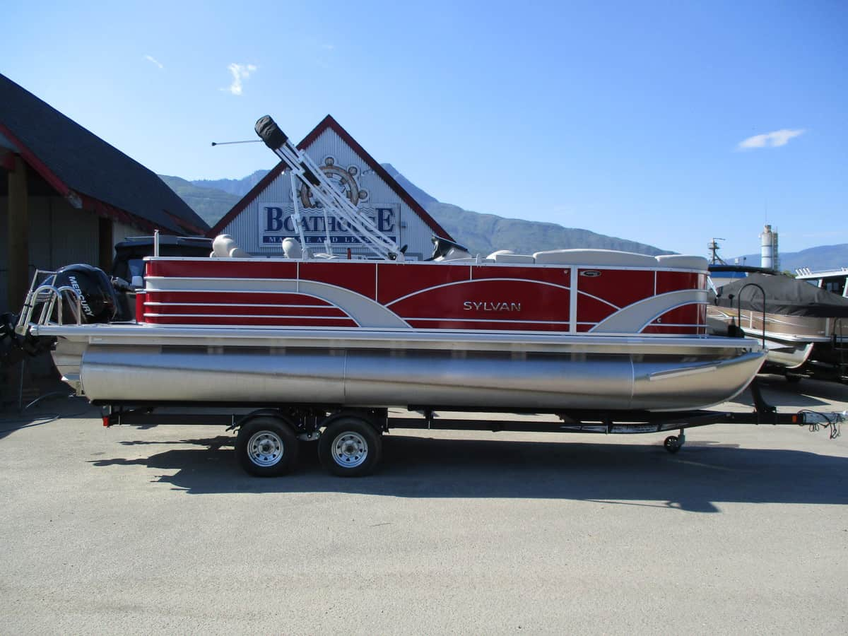USED 2017 SYLVAN 8522 Party Fish Tri Toon - Boathouse Marine