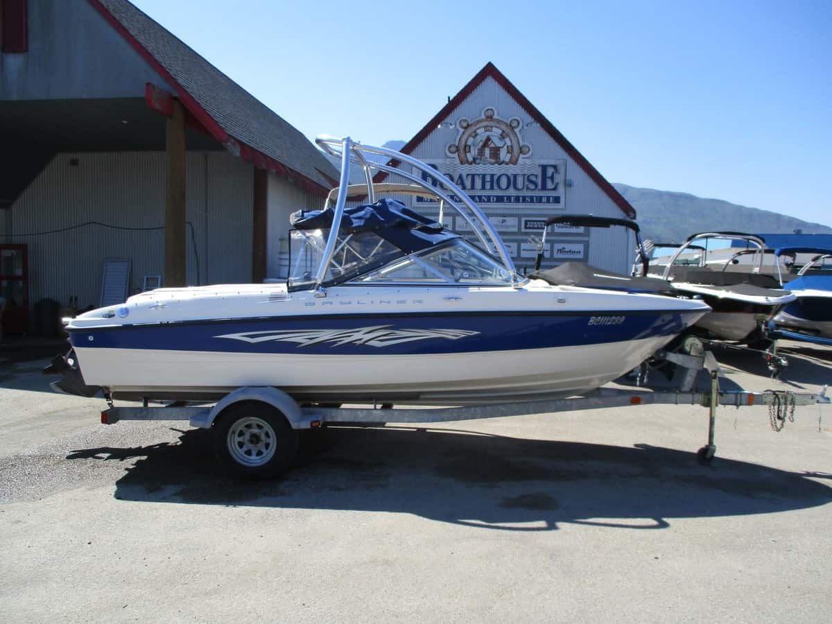 USED 2006 bayliner BR185 - Boathouse Marine
