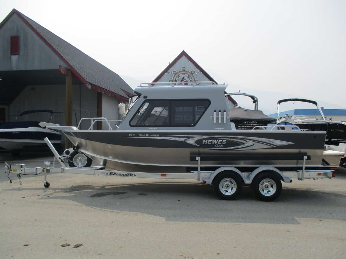 NEW 2018 HEWESCRAFT 210 SEARUNER ET HARDTOP - Boathouse Marine