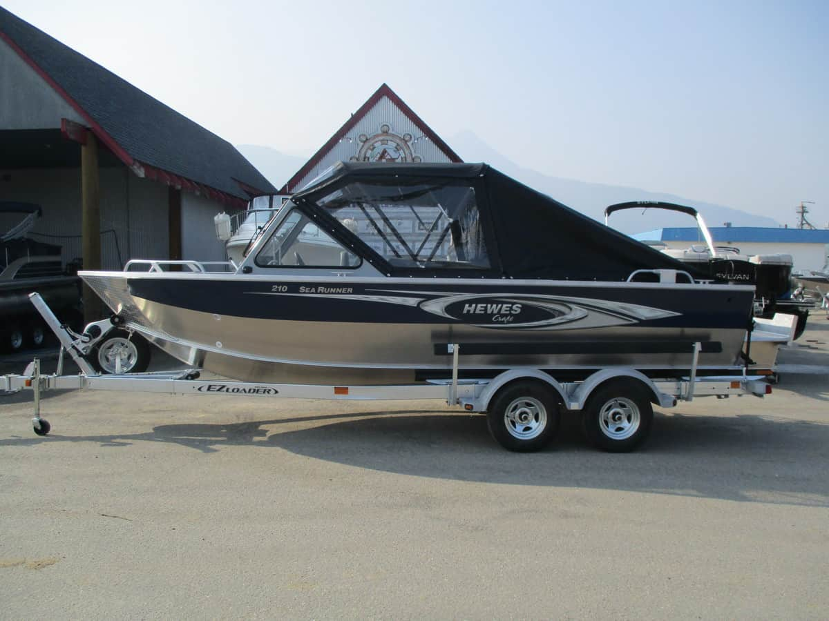 NEW 2018 HEWESCRAFT 210 SEARUNNER ET - Boathouse Marine