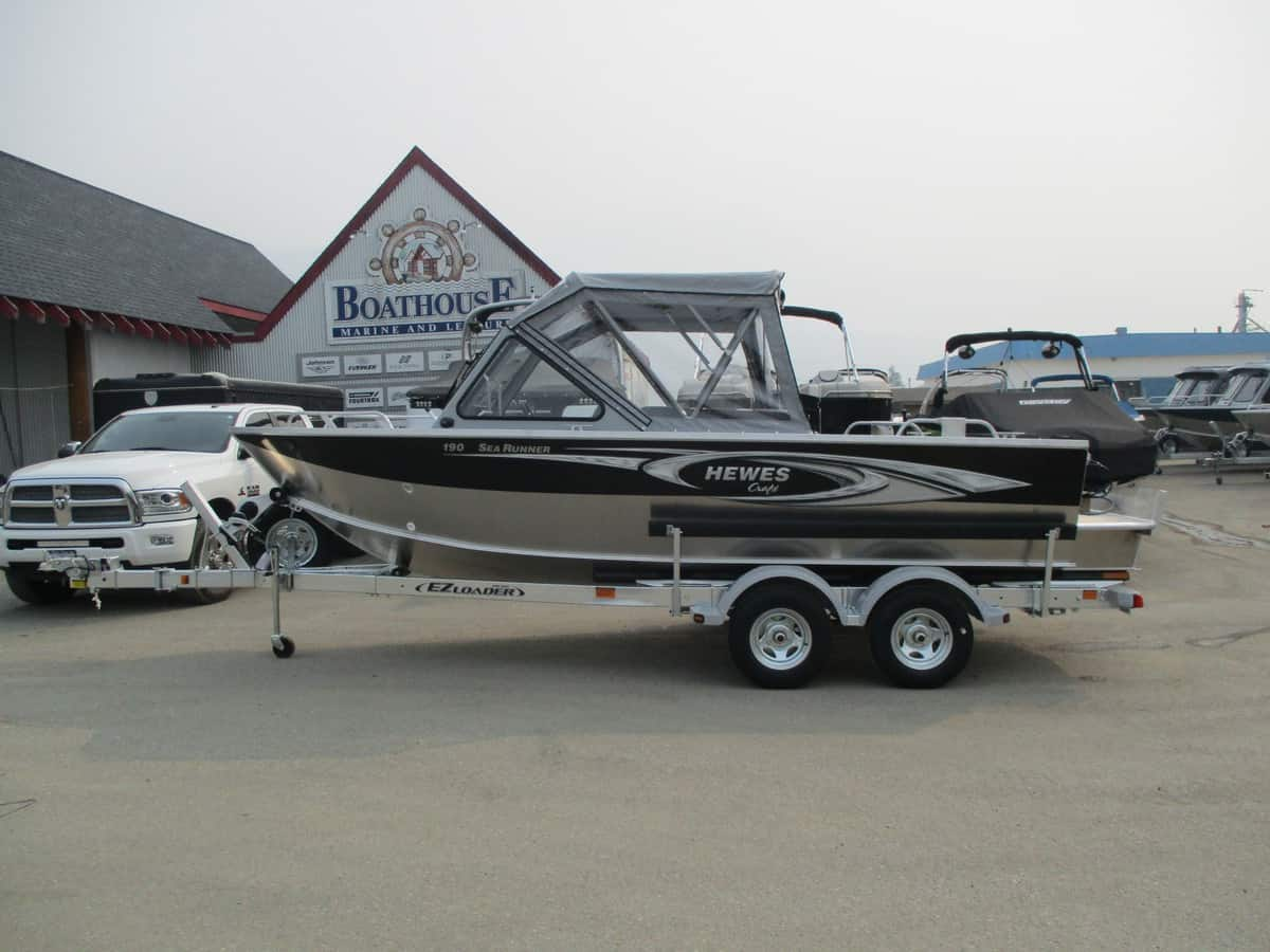 NEW 2018 HEWESCRAFT 190 SEARUNNER ET - Boathouse Marine
