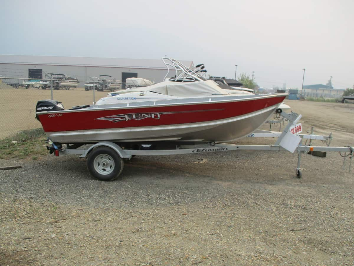 USED 2015 LUND SSV-14 - Boathouse Marine