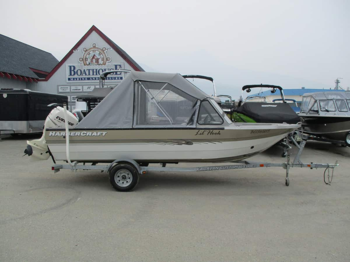 USED 2006 HARBERCRAFT 1825 SK - Boathouse Marine