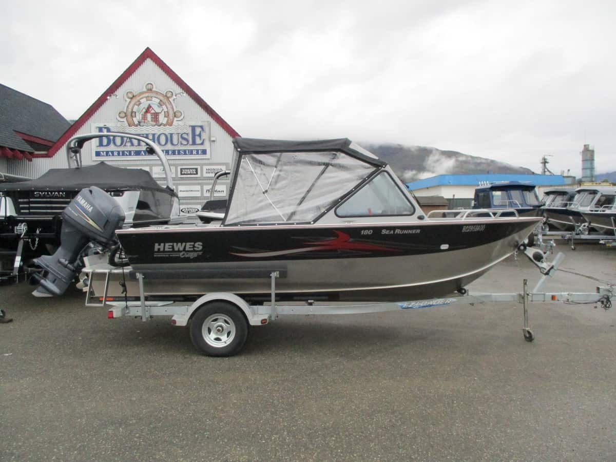 USED 2011 HEWESCRAFT 180 SEARUNNER ET - Boathouse Marine