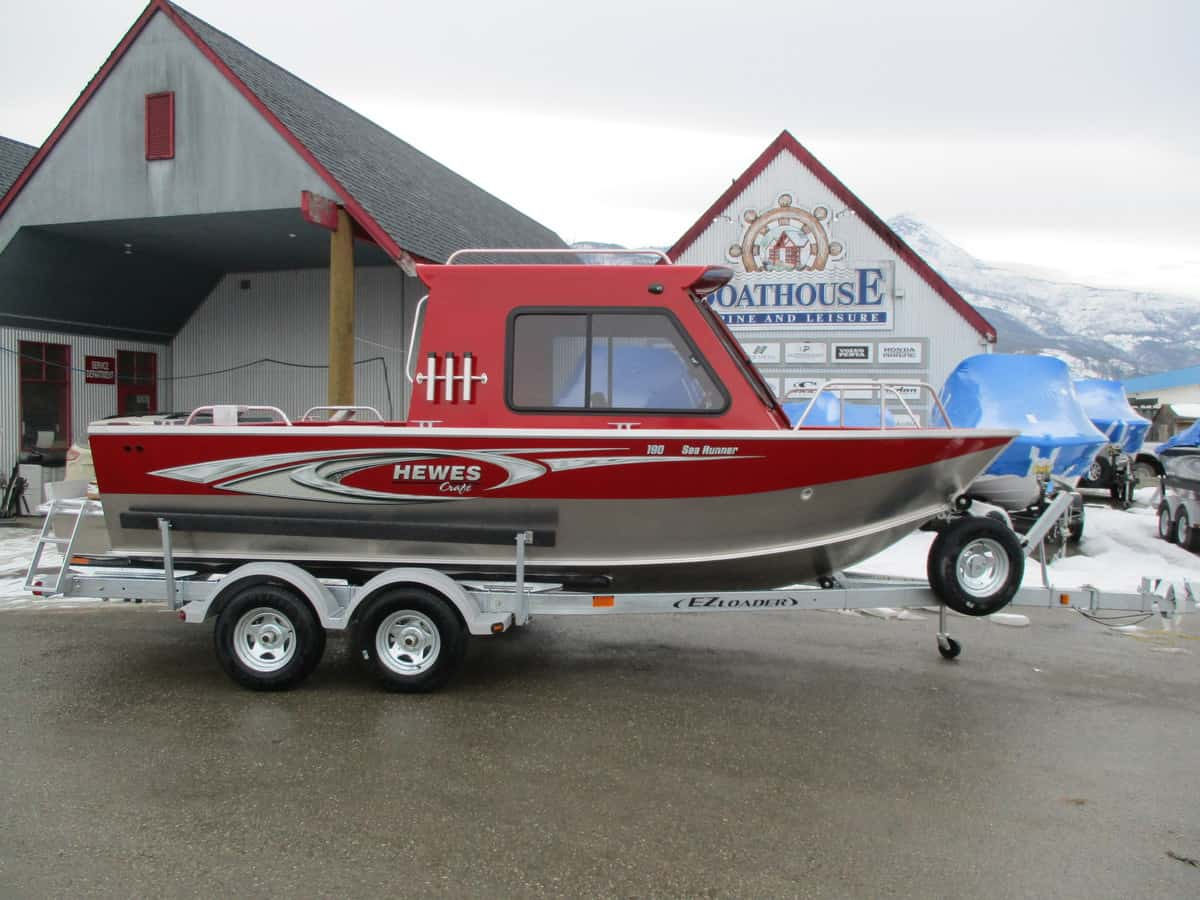 NEW 2019 HEWESCRAFT 190 SEARUNNER ET HARDTOP - Boathouse Marine