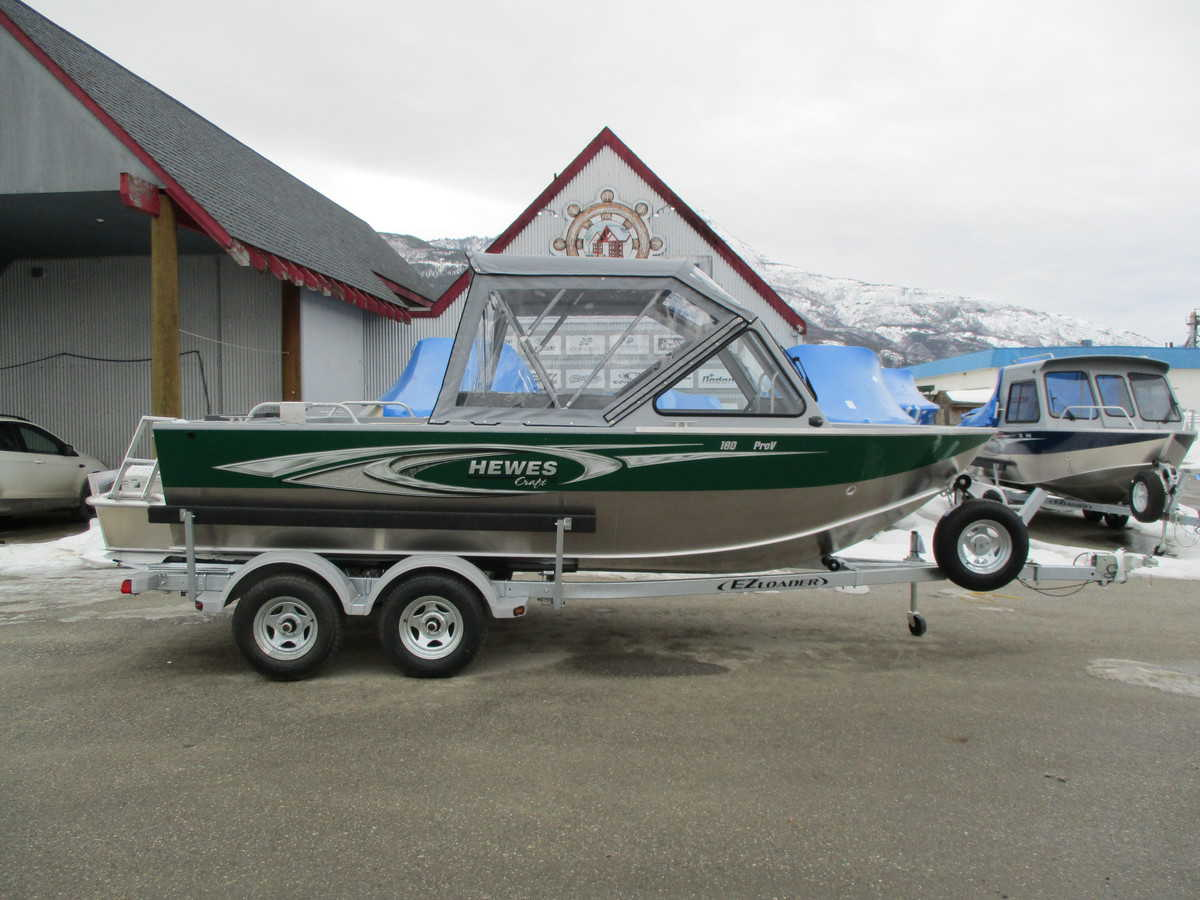 NEW 2019 HEWESCRAFT 180 PRO-V ET - Boathouse Marine