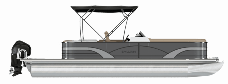 NEW 2019 SYLVAN 8522 DLZ LE-S TRI-TOON - Boathouse Marine