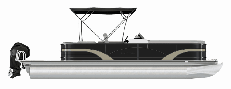 NEW 2019 SYLVAN 8522 DLZ LE TRI-TOON - Boathouse Marine