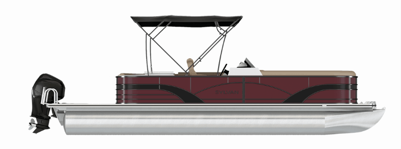 NEW 2019 SYLVAN 8522 PARTY FISH LE-S TRI-TOON - Boathouse Marine