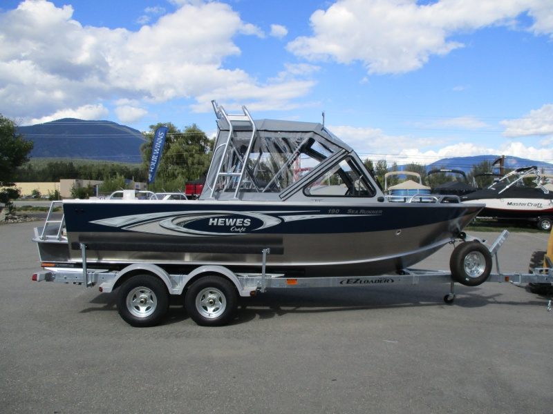 NEW 2018 HEWESCRAFT 190 SEARUNNER ET W/ YAMAHA F150 - Boathouse Marine