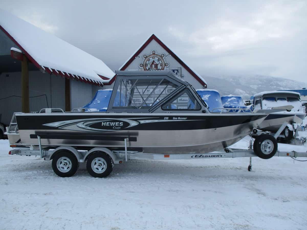 NEW 2019 HEWESCRAFT 210 SEARUNNER ET - Boathouse Marine