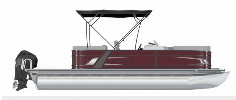 NEW 2019 STARCRAFT EXS-1 TRI-TOON - Boathouse Marine