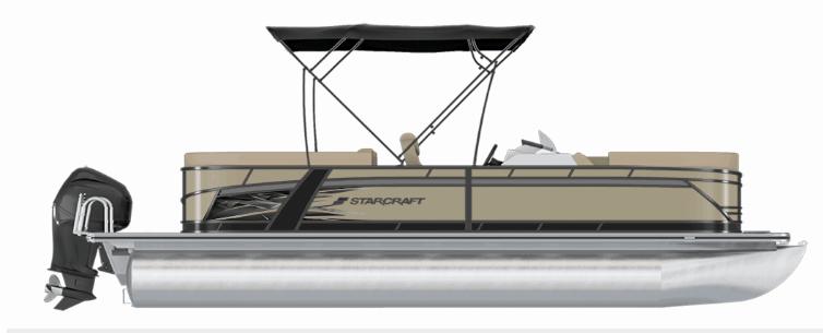 NEW 2019 STARCRAFT SLS-3 TRI-TOON - Boathouse Marine