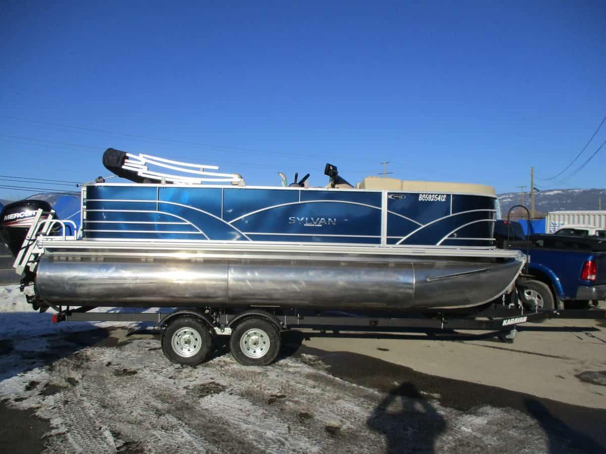 USED 2018 SYLVAN 8520 CRUISE-N-FISH - Boathouse Marine