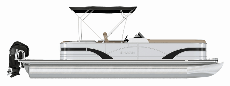 NEW 2019 SYLVAN Mirage 8520 CRUISE-N-FISH LE Tri-Toon - Boathouse Marine