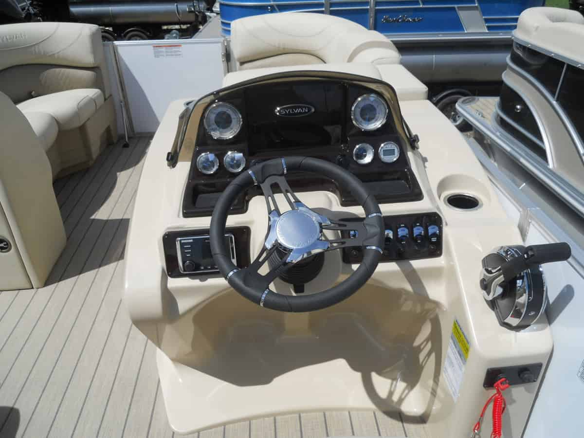 NEW 2019 SYLVAN Mirage 8520 Cruise-n-Fish LE Tri Toon - Boathouse Marine